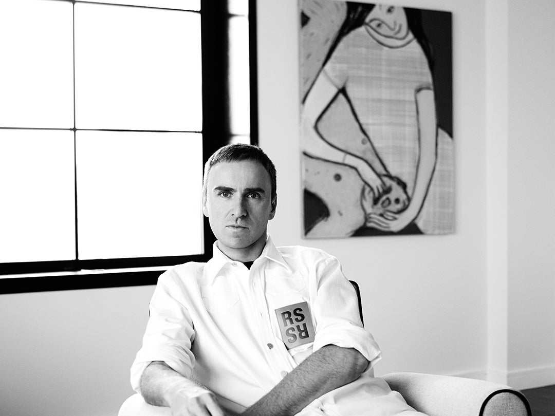 Raf Simons: Chief Creative Officer of Calvin Klein