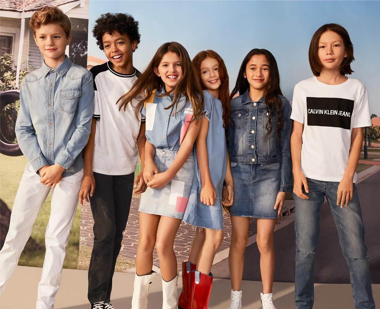 3ae748e204e Shop CALVIN KLEIN Girls and Boys apparel.