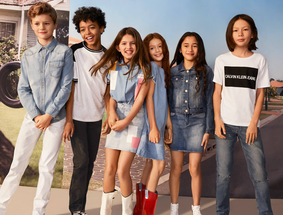d121c4f435 Shop CALVIN KLEIN Children s Spring Apparel.