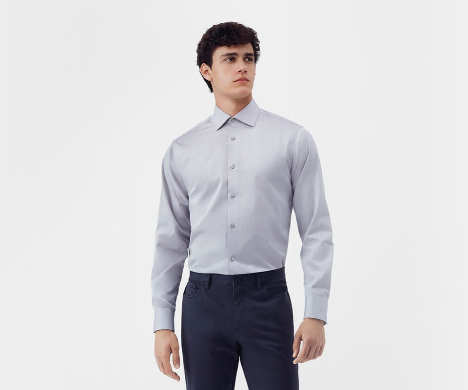 Small, Black Stripe Mens Regular//Fashion Fit Long-Sleeve Multi Pattern Botton-Front Dress Shirt