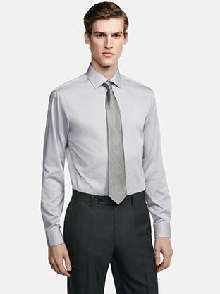 Men 39 s dress shirts calvin klein for How to find a dress shirt that fits