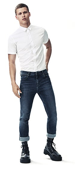 Men's sculpted fit jeans
