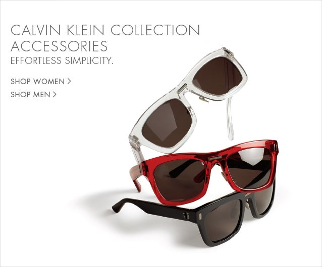 Calvin Klein Collection Accessories