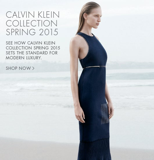 Calvin Klein Collection Spring 2015