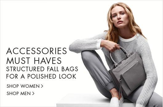 Accessories must haves. Structured fall bags for a polished look.