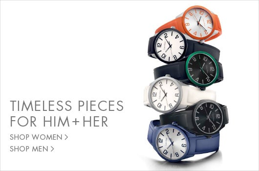 Timeless pieces for him + her