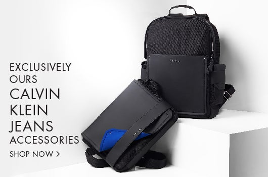Exclusivly Ours. Calvin Klein Jeans Accessories.