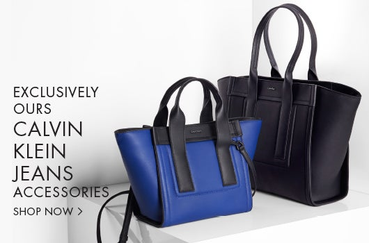 Exclusively ours. Calvin Klein Jeans Accessories.