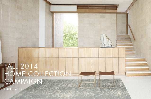 Fall 2014 Home Collection Campaign