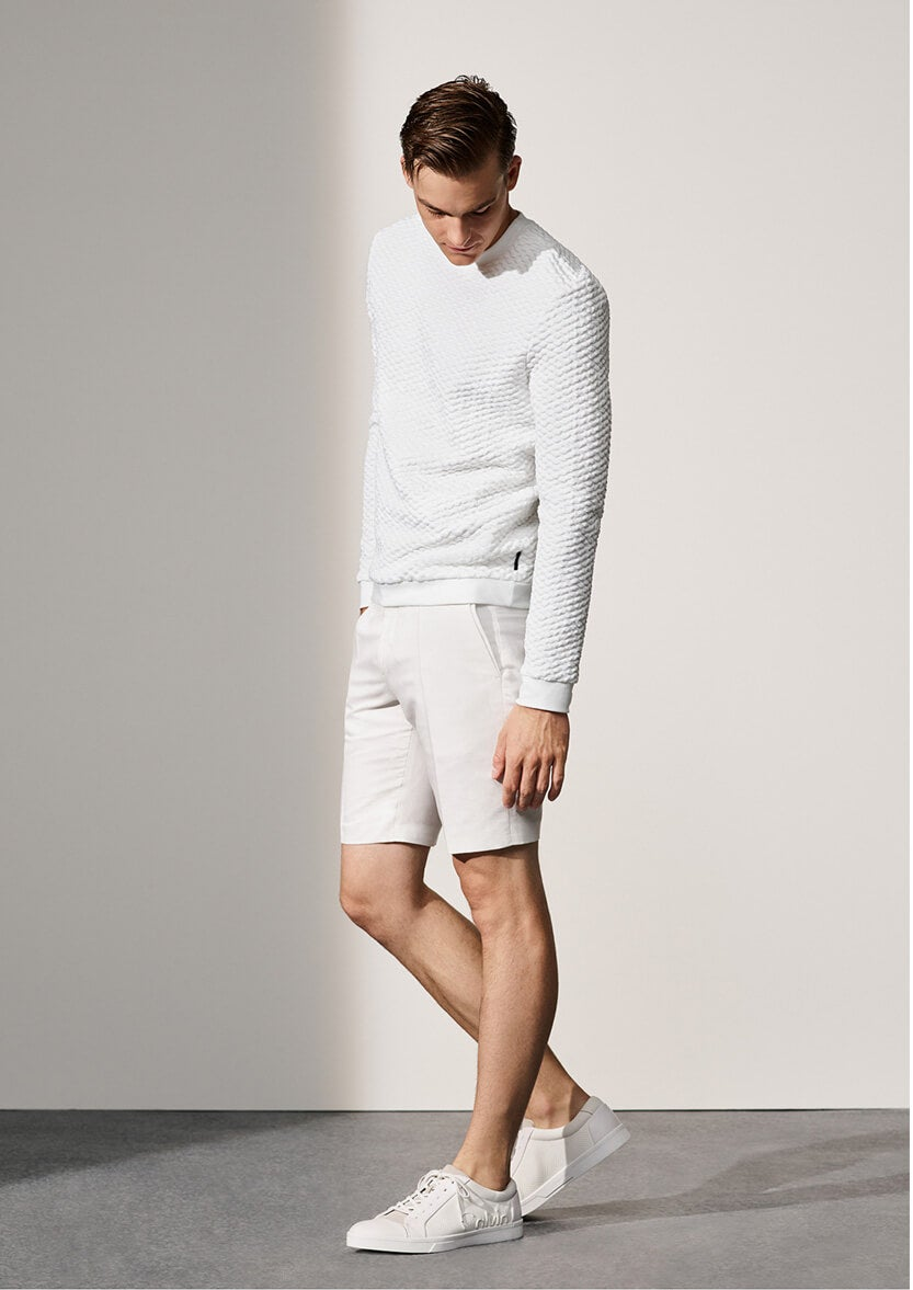 male model in sweater