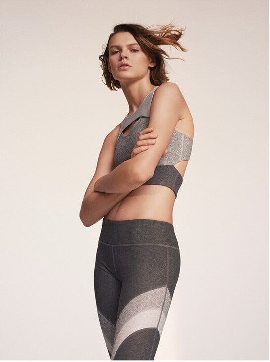 female in activewear