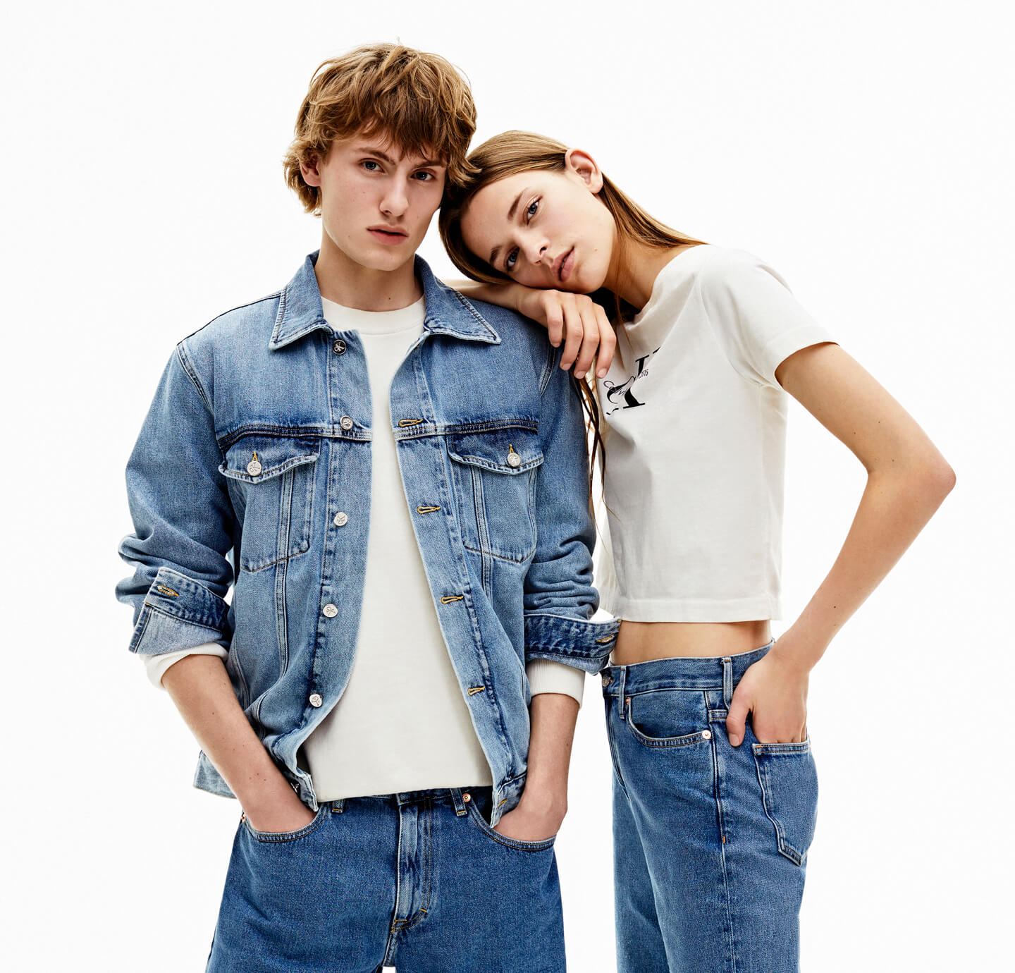 female + male model
