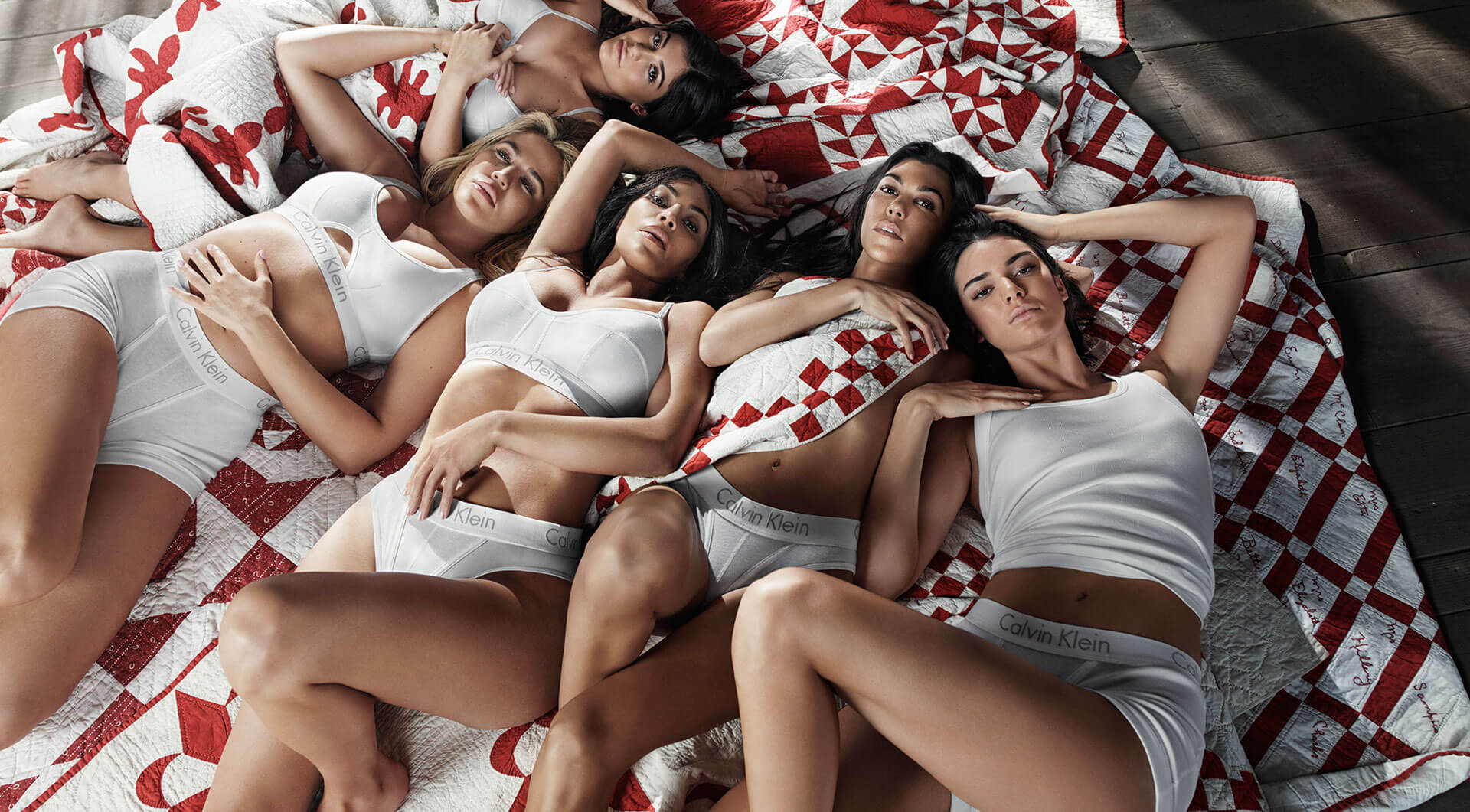 Explore the campaign featuring Kim Kardashian, Kourtney Kardashian, Khloe Kardashian, Kendall Jenner and Kylie Jenner. Our youth. Our family. #MYCALVINS.