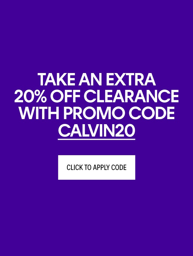 CK 25% OFF Clearance