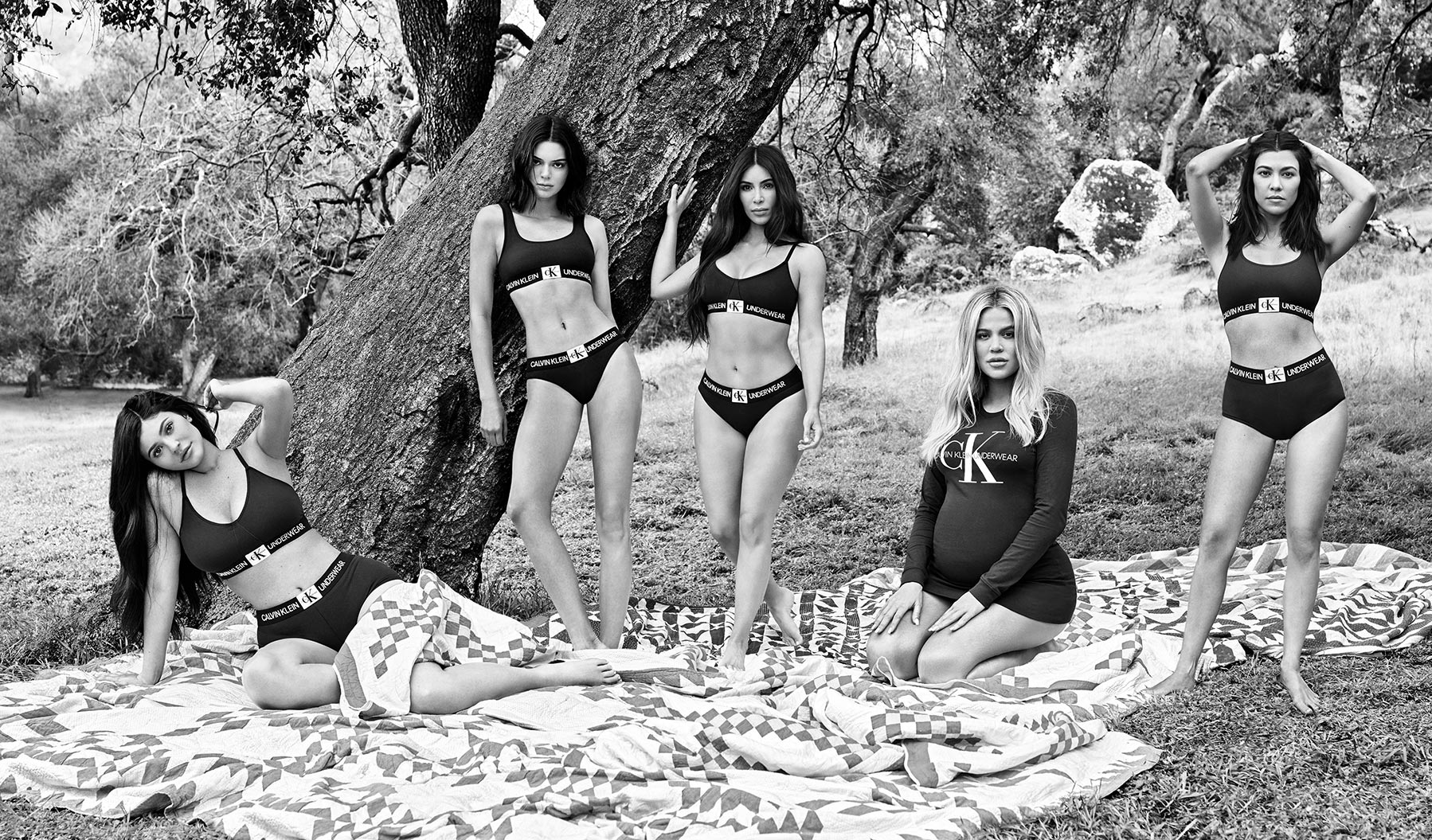 Calvin Klein Join Our Family #MYCALVINS starring The Kardashians & The Jenners