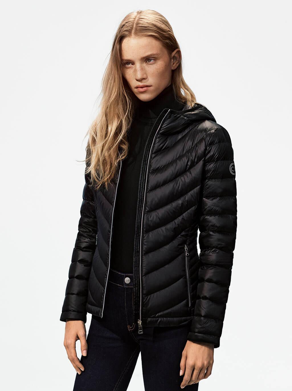 Calvin Klein Usa Official Online Site Store Sw Jaket Hoodie Pria Black Grey Womens Outerwear