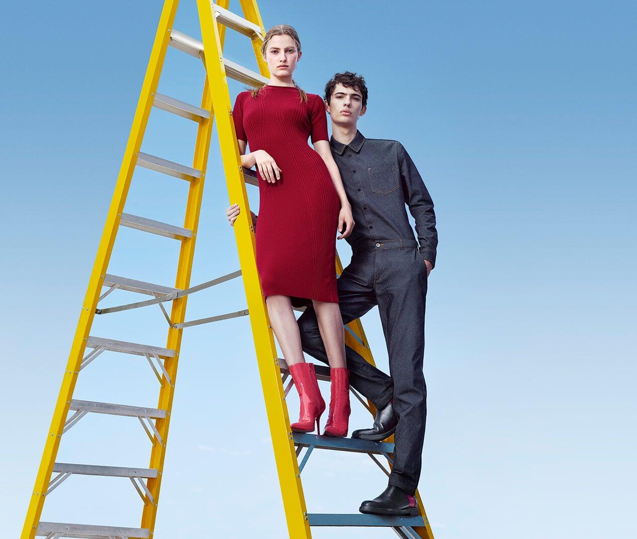 Calvin Klein Usa Official Online Site Store Magnolia Mini Dress Wanita Merah Extra 30 Off Friends Family