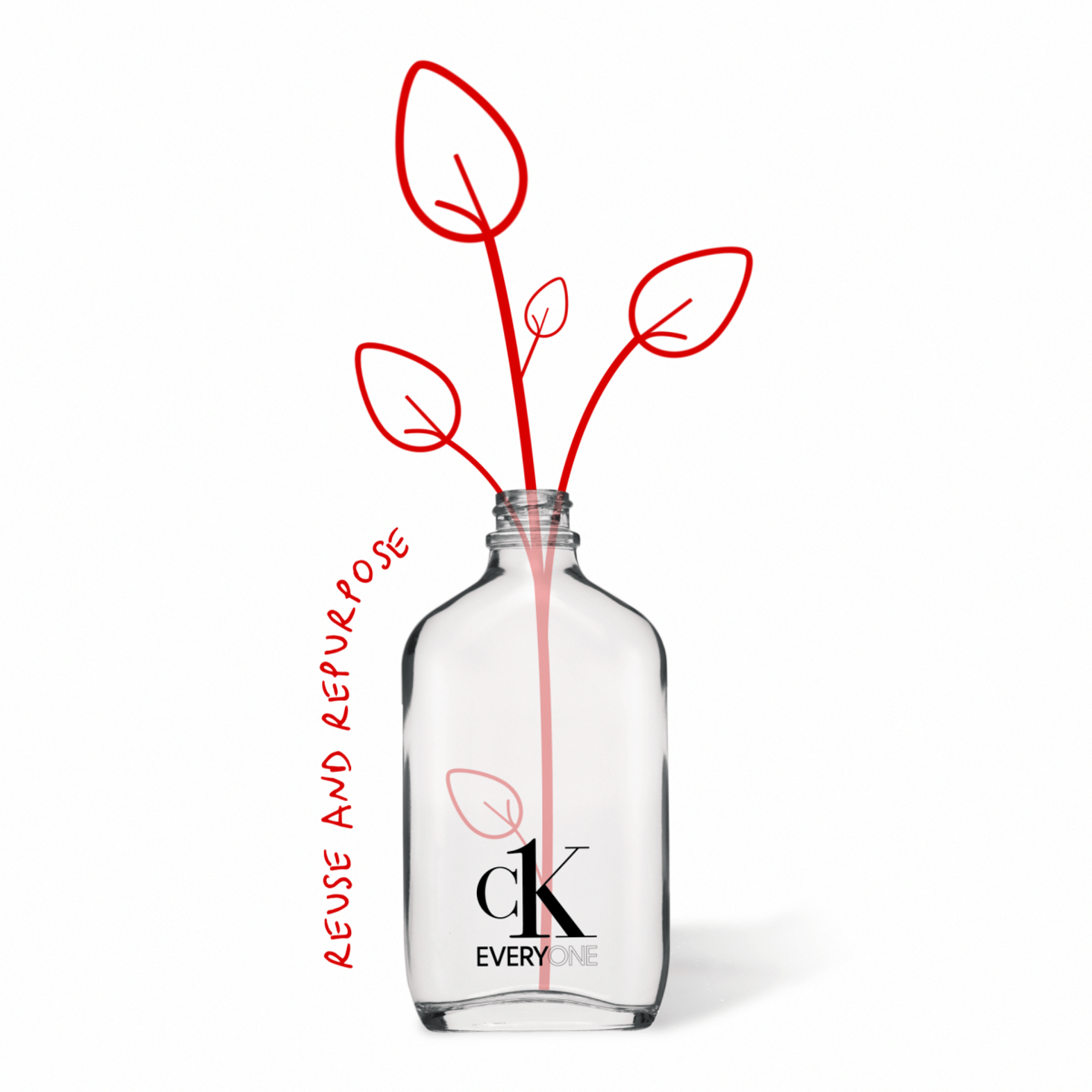 CK Everyone's bottle is recyclable