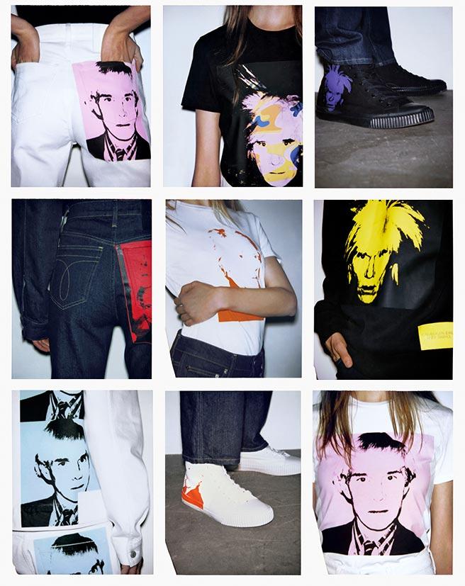 Neupreis Qualitätsprodukte große Vielfalt Modelle Andy Warhol Clothing Collection | Calvin Klein