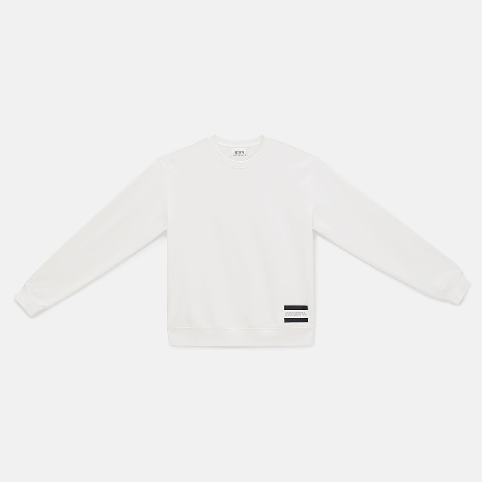 est. 1978 small patch crewneck sweatshirt