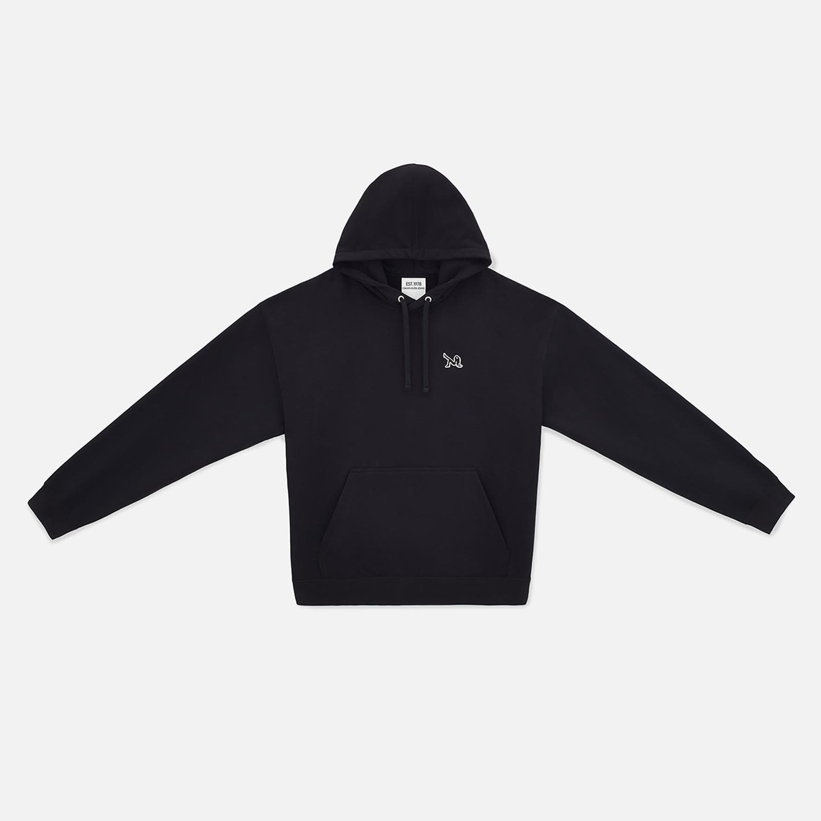 icon embroidered hoodie
