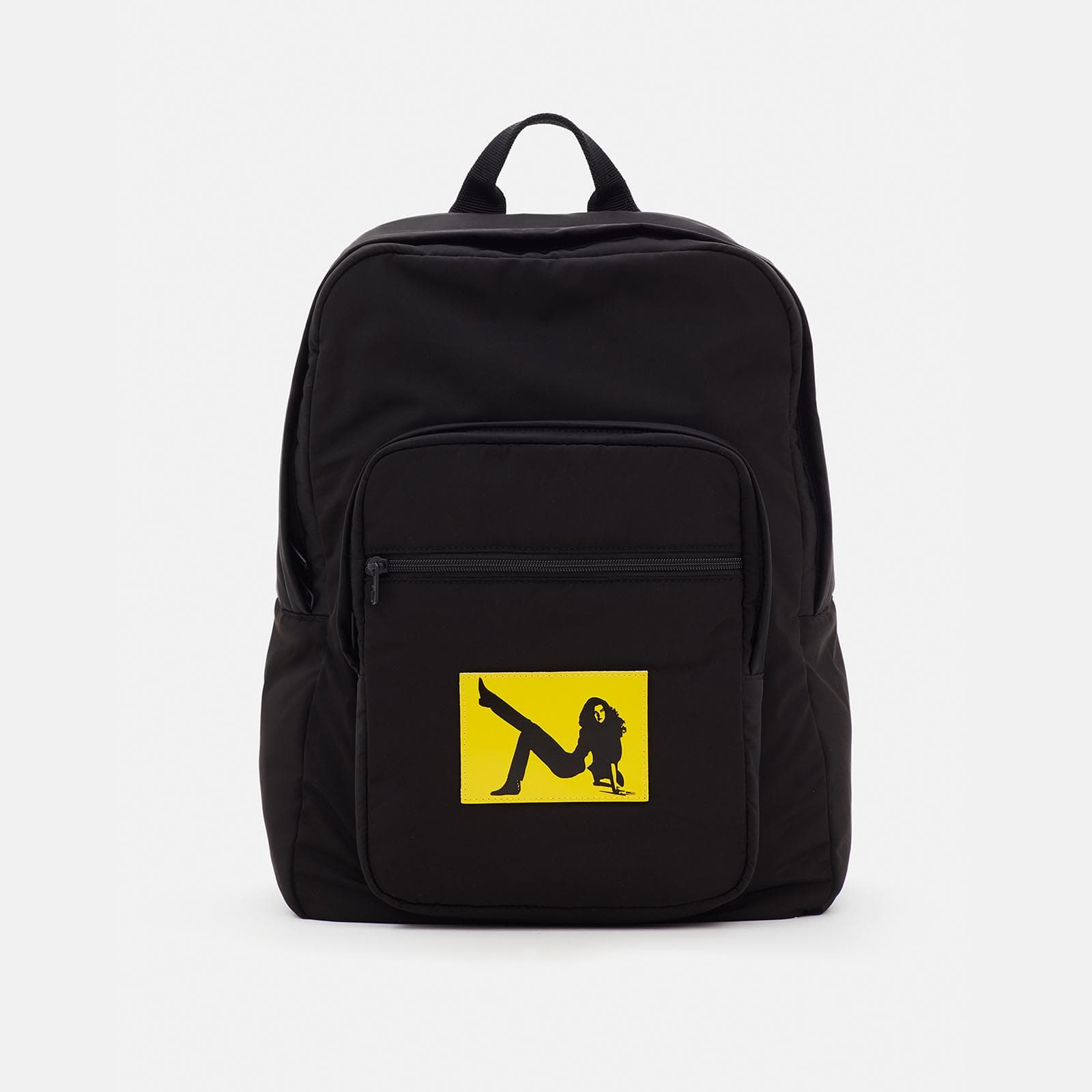icon padded nylon backpack