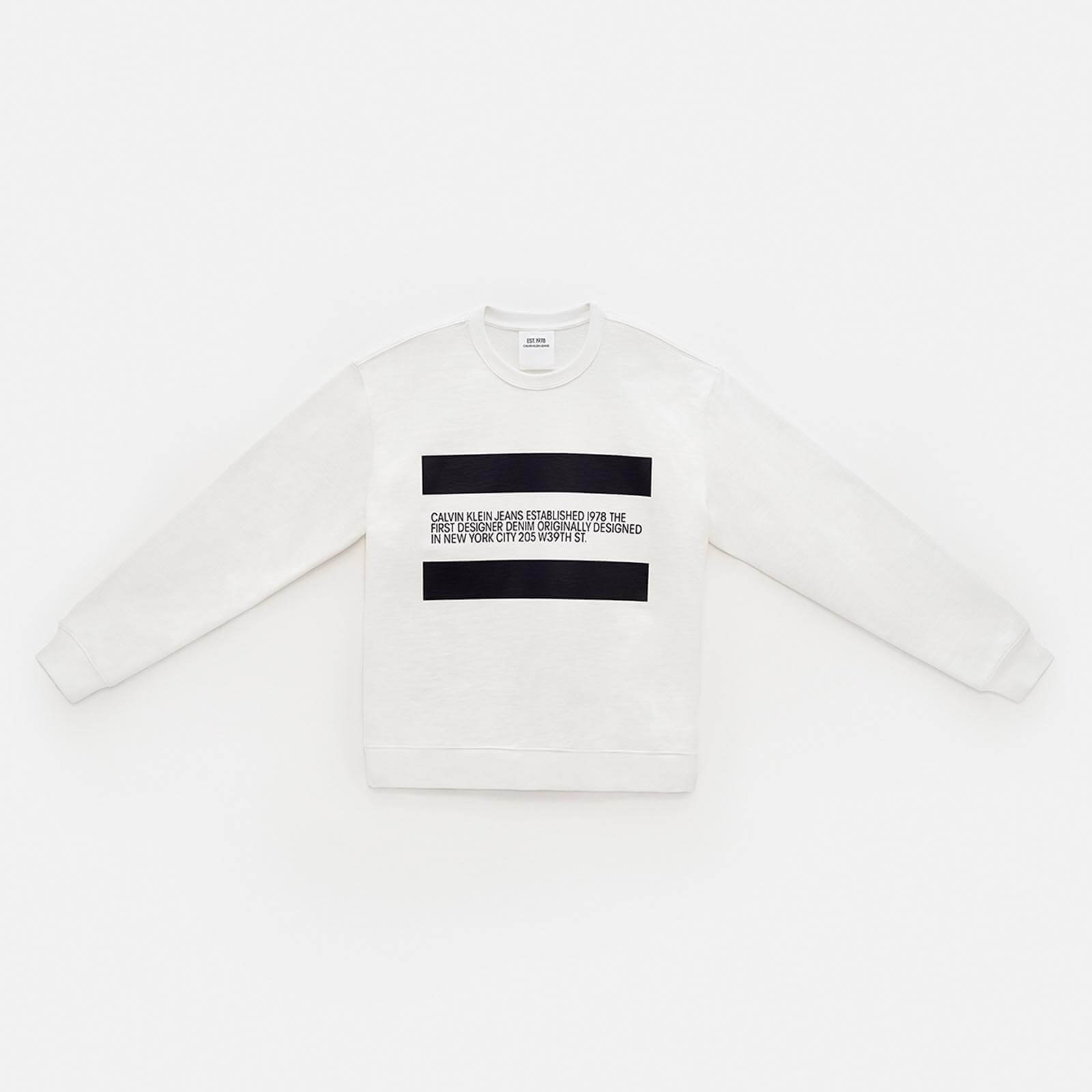 EST. 1978 PATCH CREWNECK SWEATSHIRT