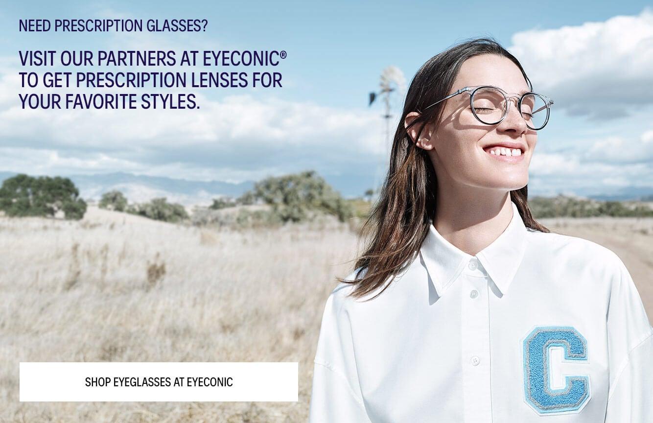 5a15175cb2f8 CK + Eyeconic eyewear for women