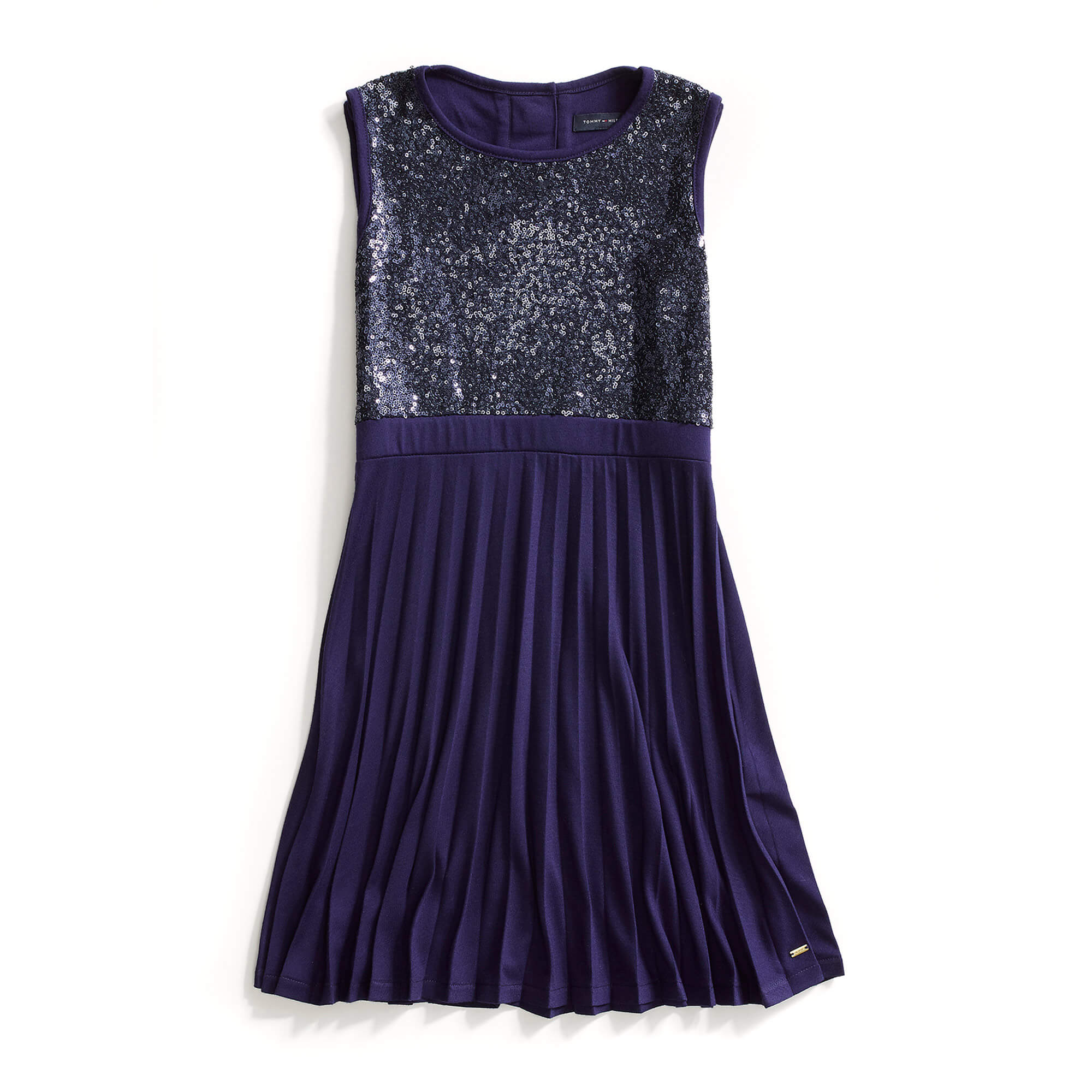 SEQUINED-KNIT-DRESS
